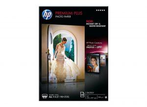 Papel fotográfico HP plus en Dynos