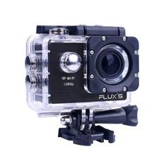 cámara aventura FLUXS con carcasa en Dynos