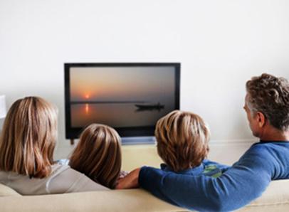 Familia y television