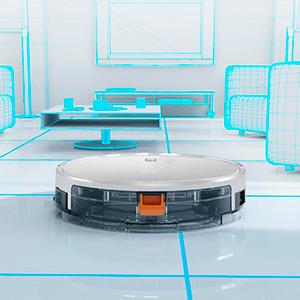 robot aspirador mapeo