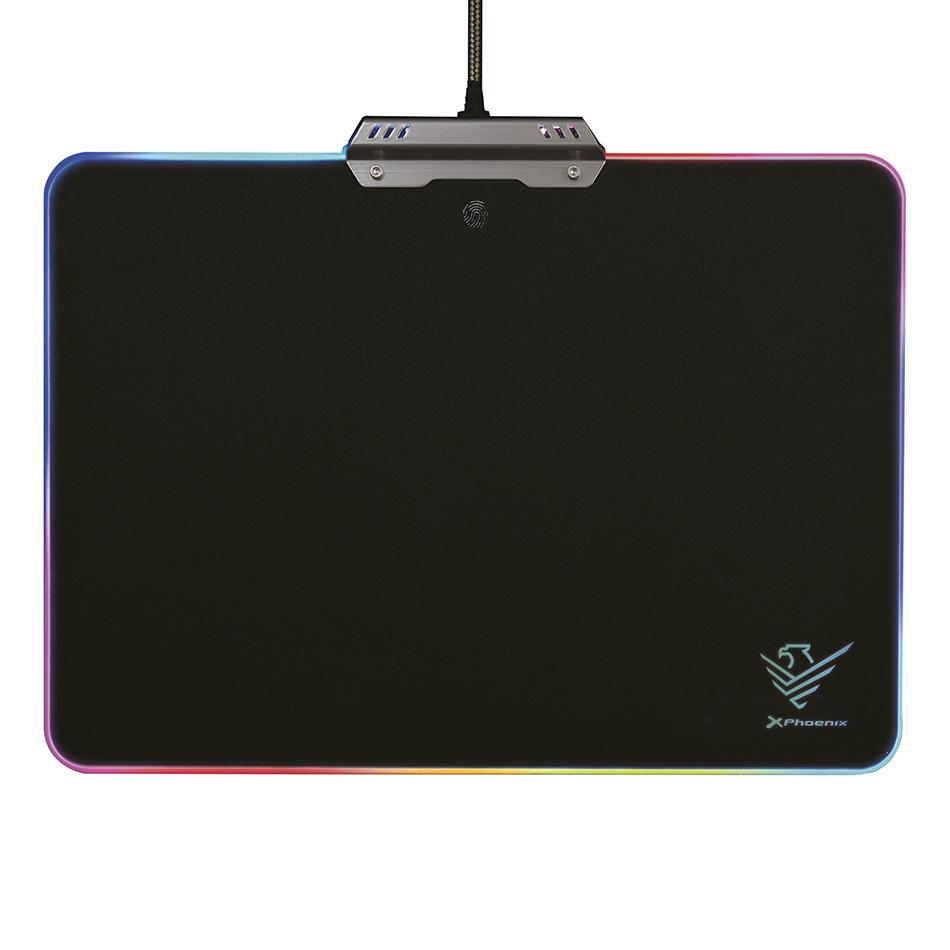 Alfombrilla para ratón y teclado gaming Phoenix