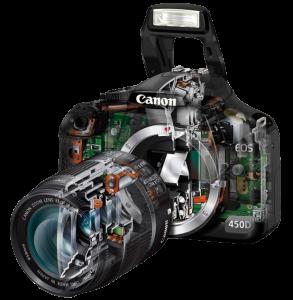 características cámara de fotos réflex en Dynos