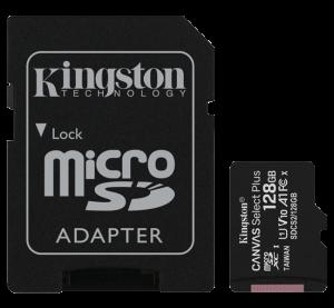 tarjeta SD de memoria para cámara de fotos Kingston